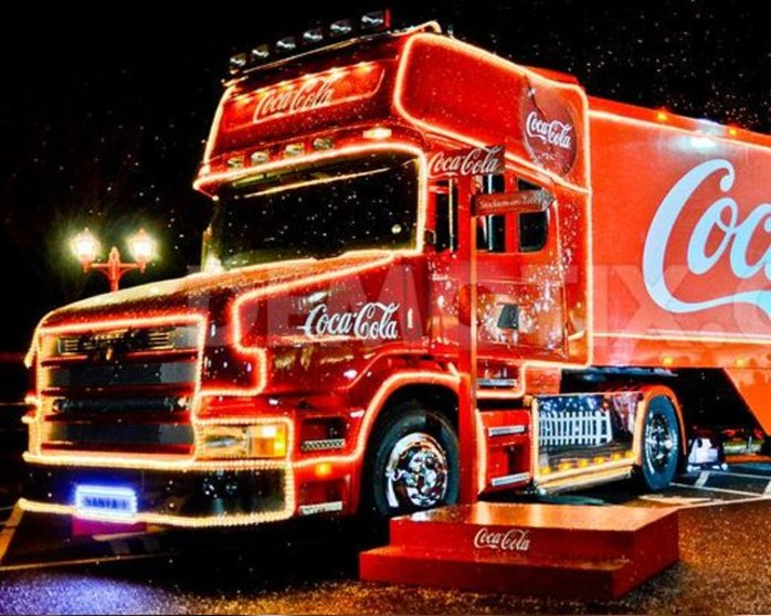 Coca Cola Christmas Truck Tour 2017