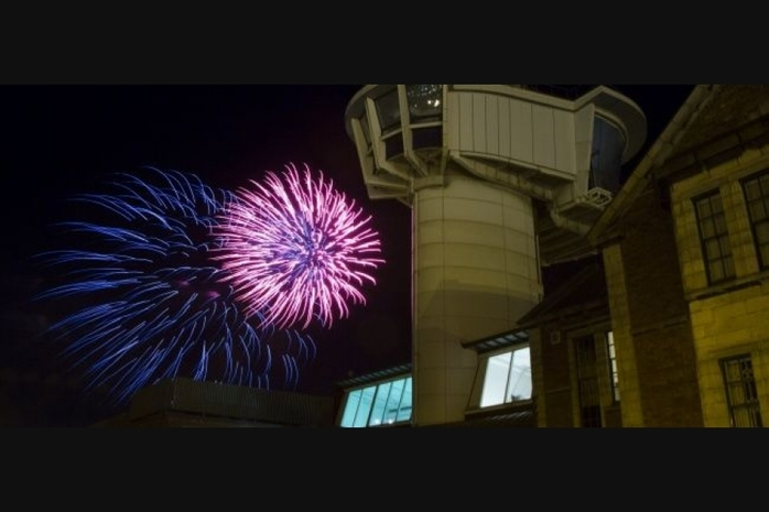 Free Fireworks at the Fort