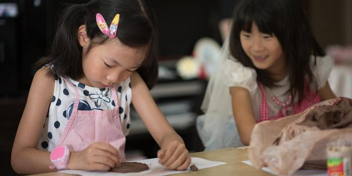 Pottery class for Families